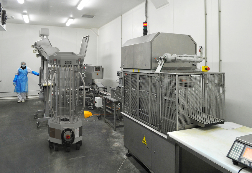 UVC, food processing, decontamination
